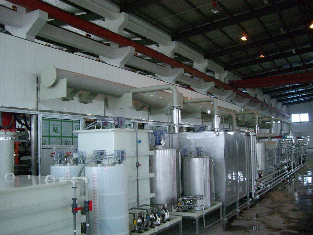 Printed Circuit Board Pcb Wet Process Equipment Advance Machine Pth Line